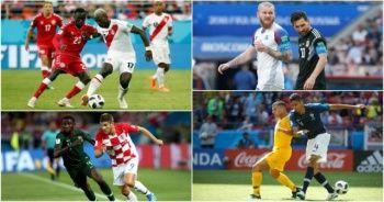 Dünya Kupası üçüncü gün maçları tamamlandı