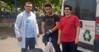 İhlas Koleji öğrencileri atık yağları geri kazandırıyor