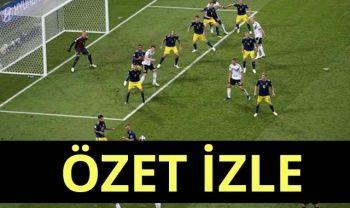 ÖZET İZLE Almanya 2-1 İsveç maçı özeti golleri izle! Almanya - İsveç maç özeti!