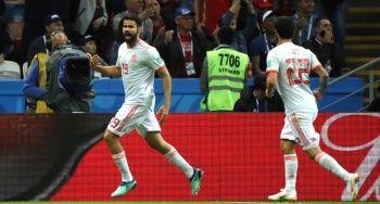 ÖZET İZLE İran 0-1 İspanya Maçı geniş özeti izle! İran İspanya maçı kaç kaç bitti?
