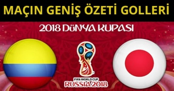 ÖZET İZLE Kolombiya 1-2 Japonya Dünya Kupası maçı geniş özeti golleri izle! Kolombiya - Japonya maç özeti