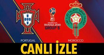 Portekiz Fas Maçı TRT 1 canlı İZLE | Portekiz Fas Maçı Canlı Skor Kaç Kaç (TRT 1 | TRT 4K İZLE )