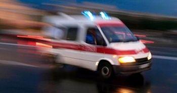Rize'de feci kaza: 1 ölü, 1 yaralı