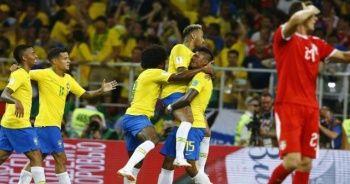 Sırbistan 0-2 Brezilya maçı özeti ve golleri İzle! Sırbistan Brezilya maçı kaç kaç bitti İZLE