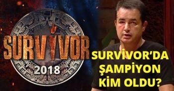 Survivor Şampiyonu kim Oldu? | 2018 Survivor'da Şampiyon Belli mi? | Survivor Kim ELENDİ, Kim GİTTİ?