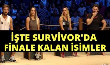 Survivor Kim Elendi, Survivor'da Finalistler Kimler Oldu? | 2018 Survivor'da finale kalan isimler.