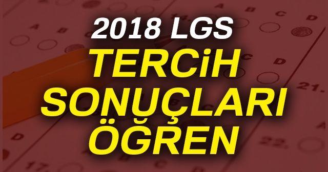 LGS Tercih Sonuçları 2018 açıklandı!   LGS Yerleştirme Sonuçları E Okul sorgula   LGS MEB tercih sonucu -ÖĞREN-