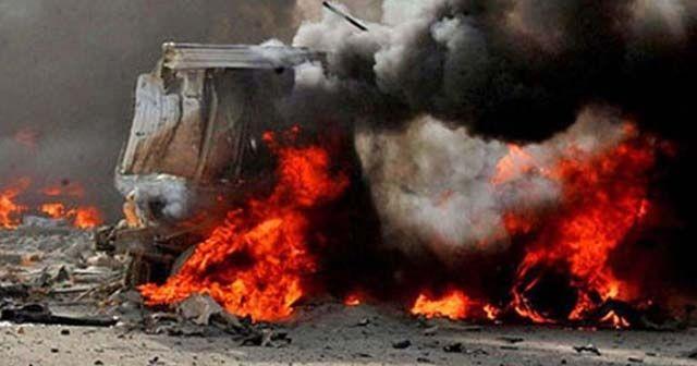 Bağdat'ta çifte patlama: 1 ölü, 11 yaralı