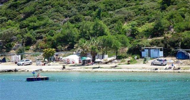 Ege'de denize sıfır tatil 25 lira