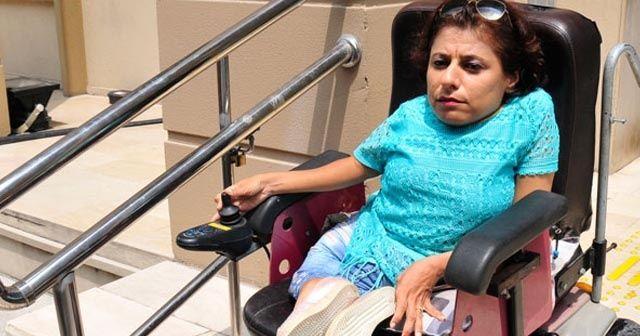 Engelli kadın, cep telefonunu çalan sanığı affetti