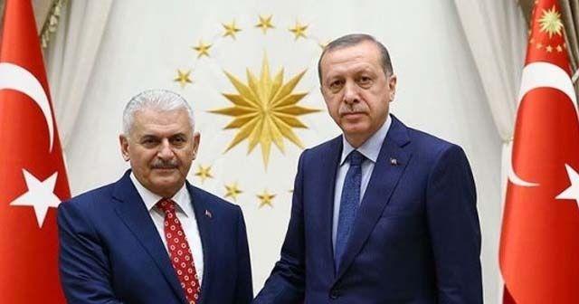Erdoğan'dan yeni meclis başkanı Binali Yıldırım'a tebrik