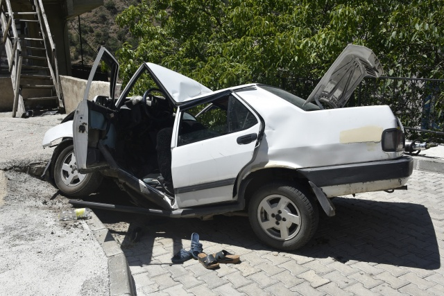 Gümüşhane'de feci kaza: 1 ölü, 6 yaralı