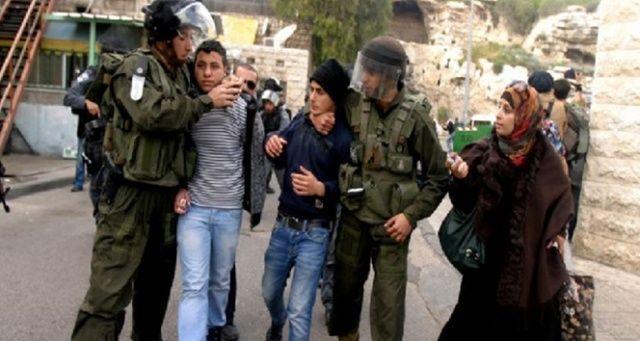 İsrail'in Filistinlilere yönelik gözaltıları