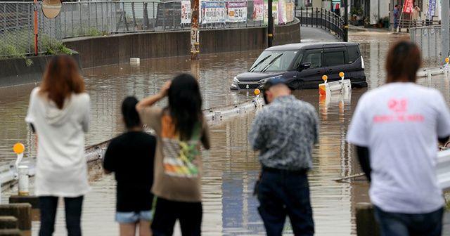 Japonya'da sel: 15 ölü, en az 45 kayıp