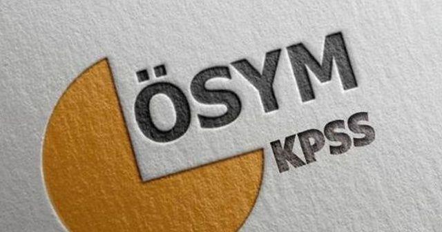 KPSS sınav giriş yerleri belli oldu