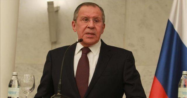 Lavrov: Suriye meselesi bölge ülkelerinin katılımı olmadan çözülemez