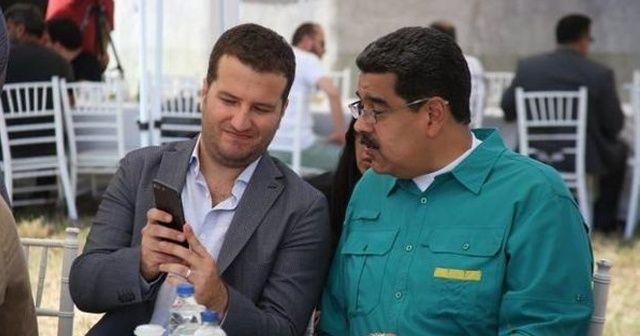 Nicolas Maduro Diriliş'in setini ziyaret etti