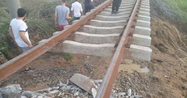 Tren kazasının yaşandığı menfezde geniş çaplı inceleme başlatıldı