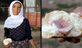 Ekmeğin içinden çıkanı görünce şok oldular