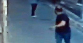Genç kız laf atan kişiyi tabancayla kovaladı