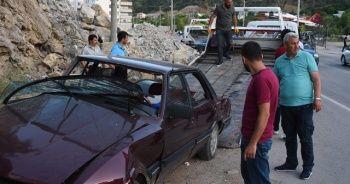Gümüşhane'de feci kaza: 7 yaralı