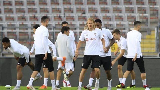 Beşiktaş, LASK Linz maçına hazır