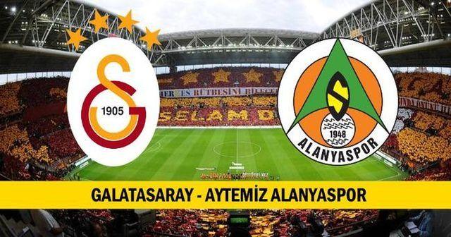 Galatasaray Alanyaspor maçı özeti ve golleri İZLE   Galatasaray Alanyaspor 6-0 skoru kaç kaç bitti?
