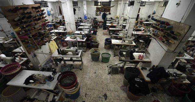 Gazze'deki fabrikaların yüzde 95'inden fazlasında üretim durdu