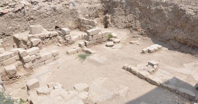 İnşaat alanında yeni tarihi eserler bulundu