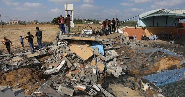 İsrail, Gazze'de 150 noktayı vurdu
