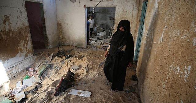 İsrail'in saldırısı Filistinli anne ve bebeğini şehit etti
