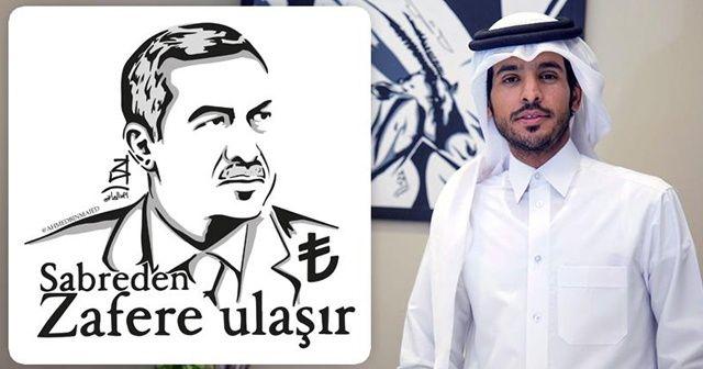 Katarlı ressamdan 'Erdoğan portreli' Türkiye desteği