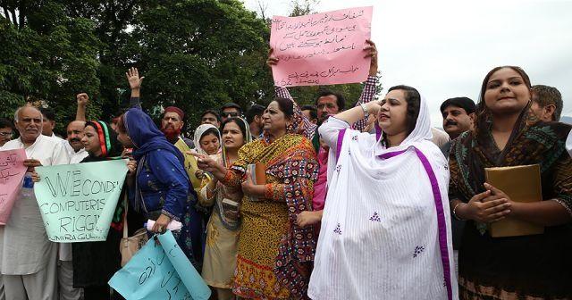 Pakistan'da seçim sonuçları protesto ediliyor