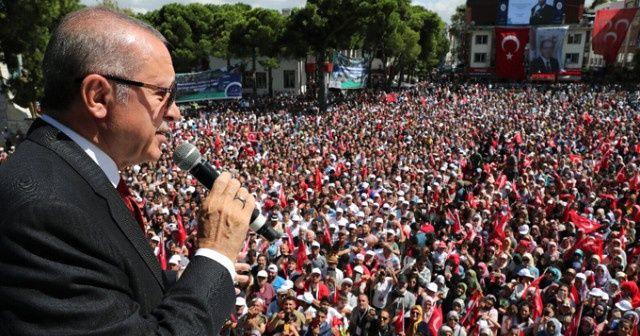 Yere dolar atan vatandaşla Erdoğan arasında ilginç diyalog