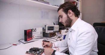 18 yaşında yerli elektronik ana kart üretti