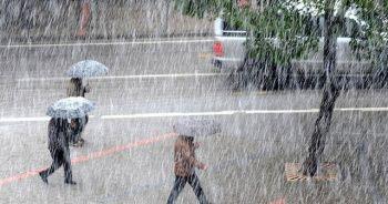 7 il için kritik yağış uyarısı