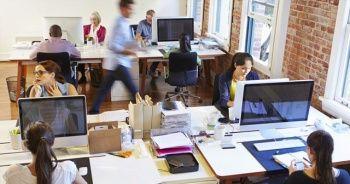Açık ofiste çalışanlar daha aktif ve stressiz oluyor