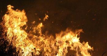 Alev alev yandı: 4 saatte söndürüldü
