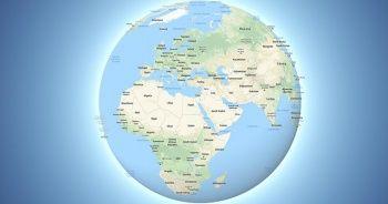 Google, Dünya'yı artık küre olarak gösteriyor