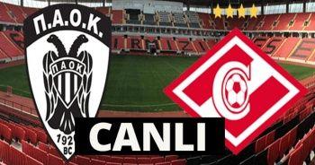 PAOK Spartak Moskova maçı şifresiz canlı izle! PAOK Spartak Moskova maçını şifresiz veren kanallar