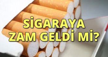 Sigaraya Zam Geldi Mi? | 2018 Sigaraya Zam Yapıldı Mı? Sigara fiyatları kaç TL oldu?