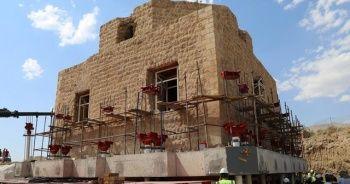 Tarihî Artuklu Hamamı'nın taşınma süreci başladı