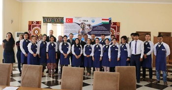 TİKA'dan Tacikistan'da turizm eğitimi