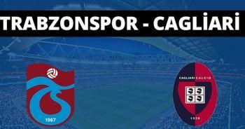 Trabzonspor - Cagliari maçı özeti izle! Trabzonspor - Cagliari maçı kaç kaç bitti? TS maçı özet