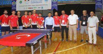 Türkiye masa tenisinde bir altın bir gümüş madalya aldı