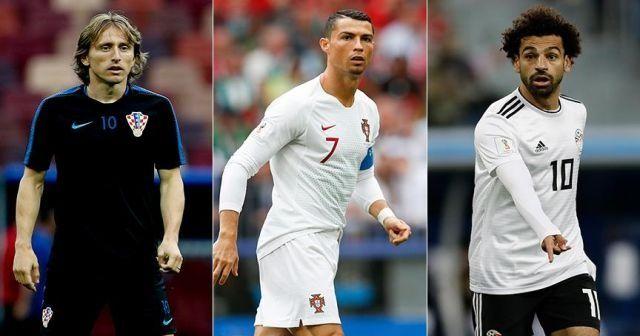 'FIFA yılın en iyileri ödülü'nde finale kalanları duyurdu