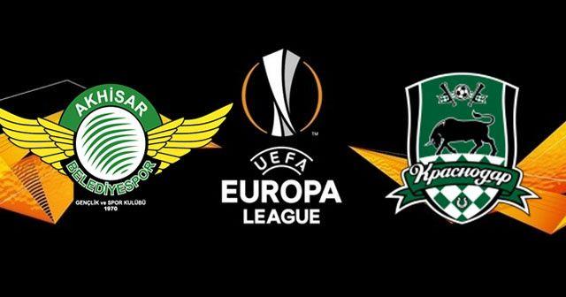 Akhisarspor - Krasnodar Maçı geniş özeti golü izle! Akhisarspor - Krasnodar maçı kaç kaç bitti?