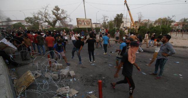Basra'daki gösterilerde ölü sayısı 7'ye yükseldi