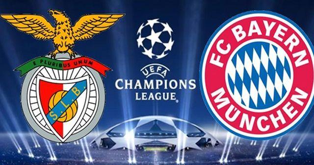 Benfica Bayern Münih maçı özeti ve golleri izle | Benfica Bayern Münih maçı kaç kaç bitti Şampiyonlar Ligi