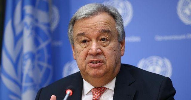 BM Genel Sekreteri Guterres'ten Türkiye, Rusya ve İran'a çağrı